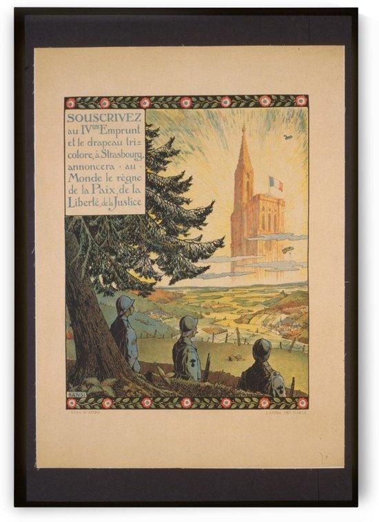 Vintage---Cathedral-in-Strasborg by VINTAGE POSTER