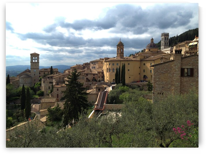 View of Assisi by Dorothy Berry-Lound