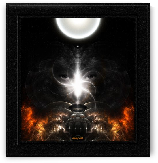 Isis Revealed Mystical Fractal Art Composition by Xzendor7 by xzendor7