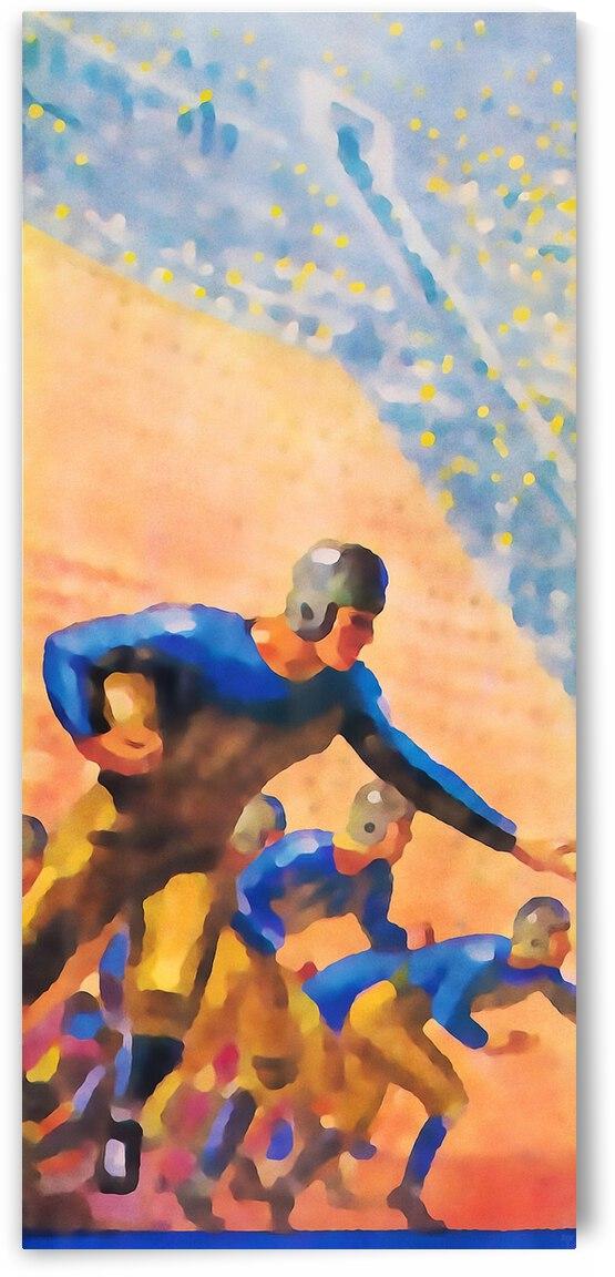 1932 Cal Bears Football Art by Row One Brand