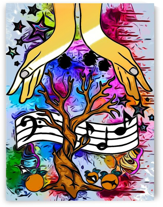 Creation Eye of Sound by Kiva Ayo