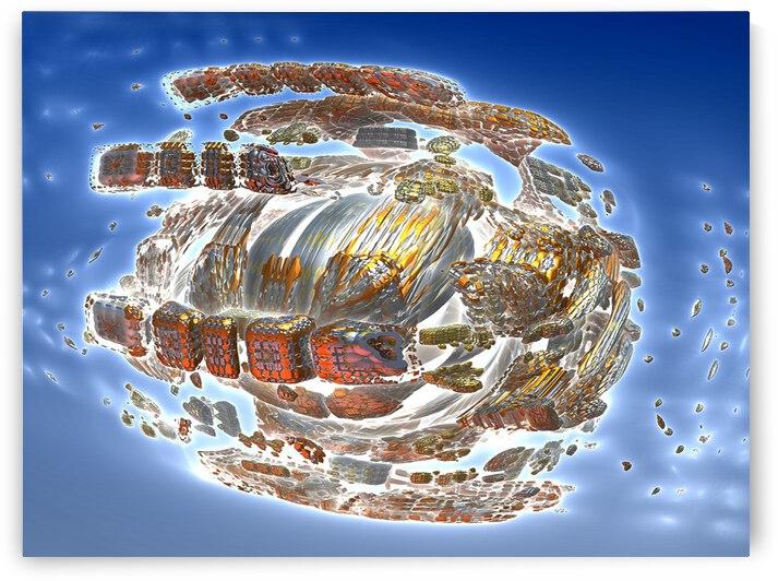 Spaceship Disintergration by Matthew Lacey