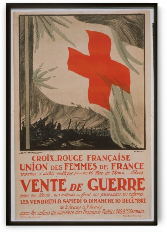 Vintage---Croix-Rouge by VINTAGE POSTER