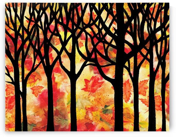 Fall In The Forest by Irina Sztukowski