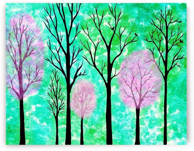 Spring Forest by Irina Sztukowski