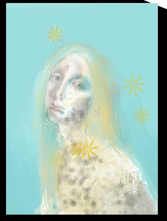 Fille-Fleurs by Ann Saint Gelais