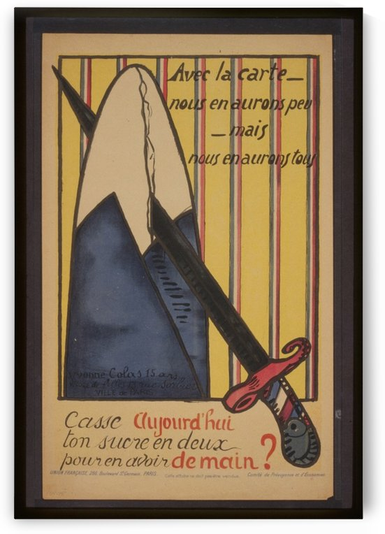 Vintage---Cutting-Sugar-Cane by VINTAGE POSTER