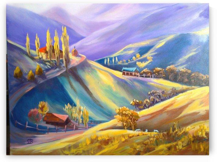 Moeciu landscape  by Budai George