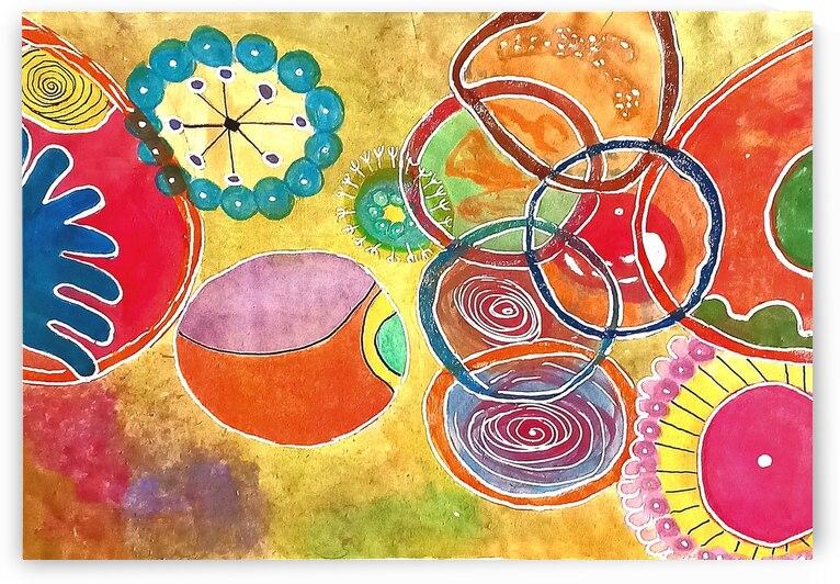 kaleidoscope 1 by Zaramar Paintings