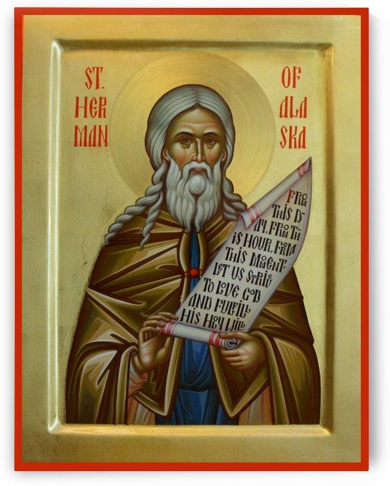 St. Herman of Alaska by Daniel Neculae
