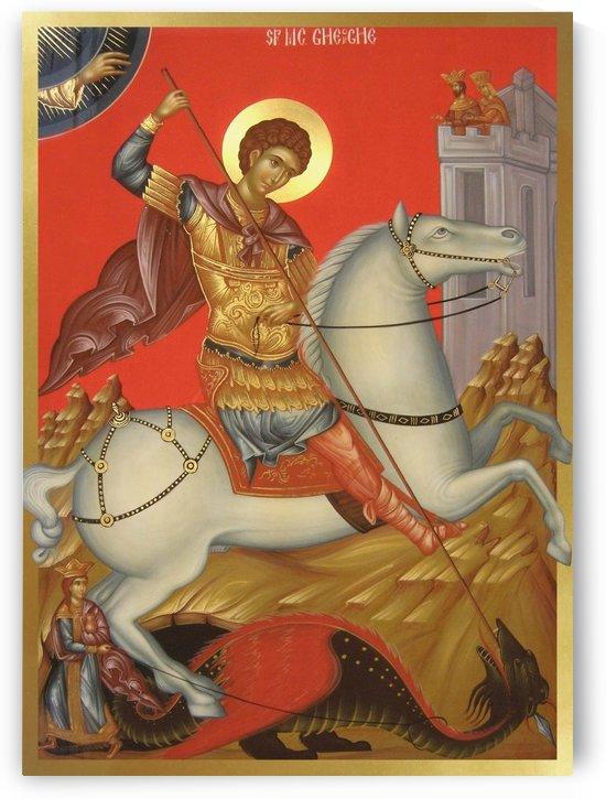 St. George by Daniel Neculae