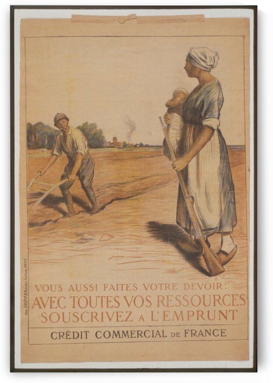 Vintage---Farming-crops by VINTAGE POSTER