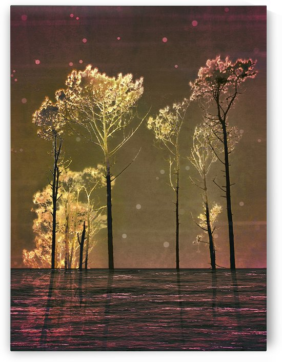 Fantasy Landscape Collage by Daniel Ferreia Leites Ciccarino