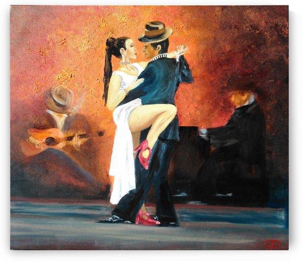 Tango pasional by Budai George