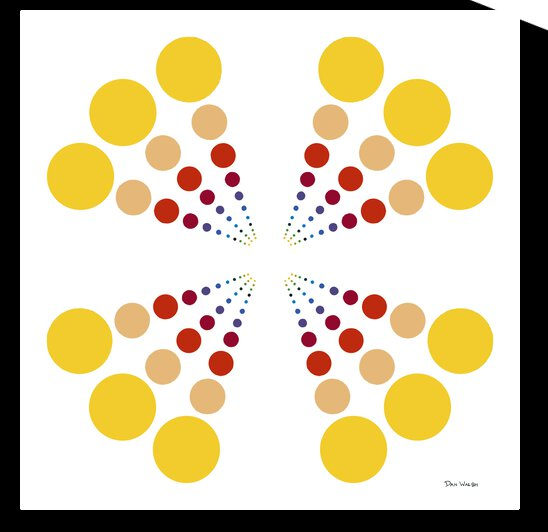 Color Wheel   Dots    by Candace Frankland