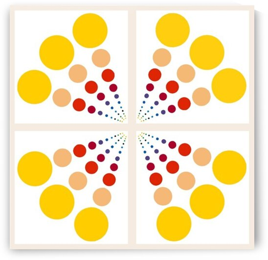 Color Wheel Dots with spaces  by Candace Frankland
