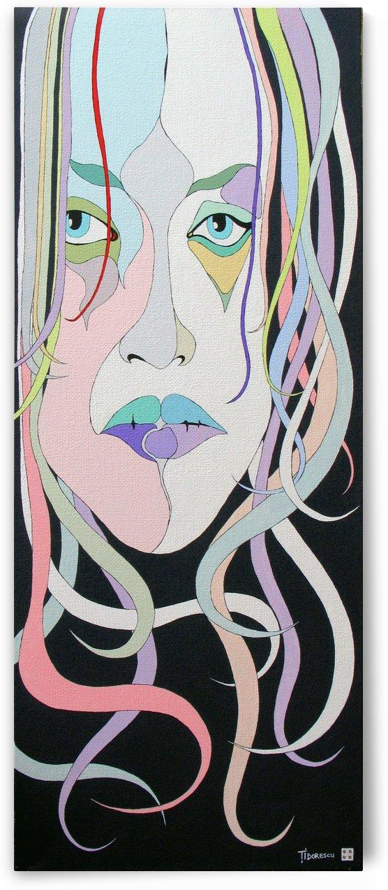 Sad girl by Lucian Tidorescu