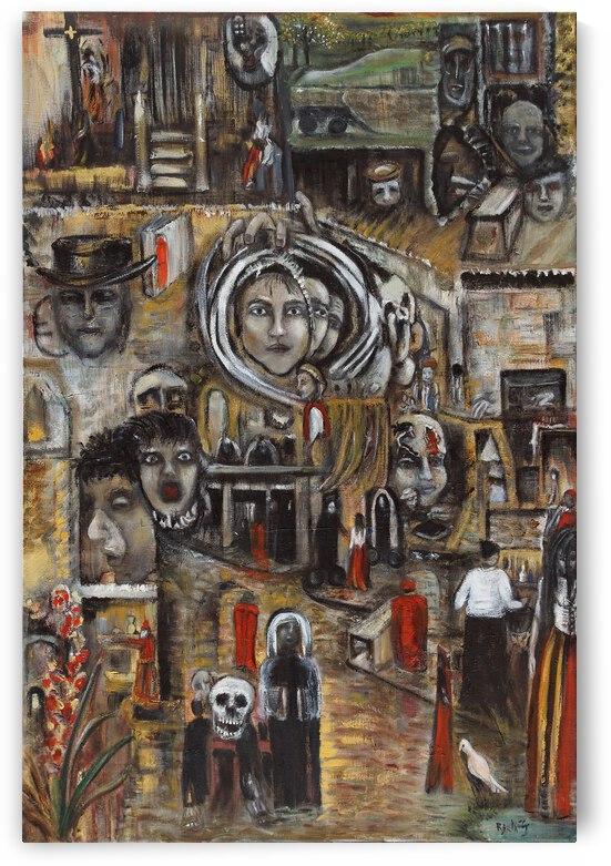Into Temptation by Becky Claffy Fine Art