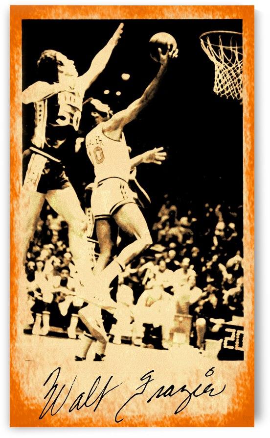 1976 New York Knicks Walt Frazier Art by Row One Brand