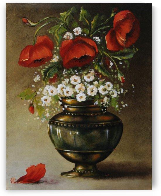 poppy bouqet by Vali Irina Ciobanu by vali irina ciobanu