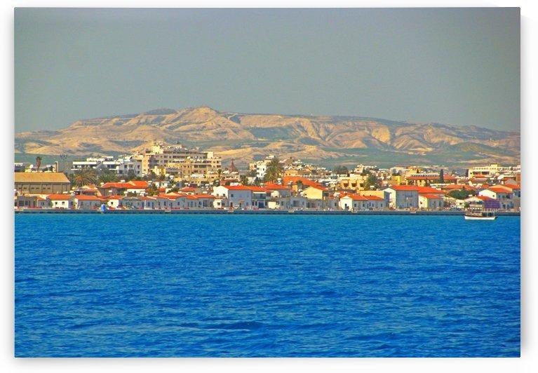 Cyprus shore on the coast near Larnaca by Vlad Radulian