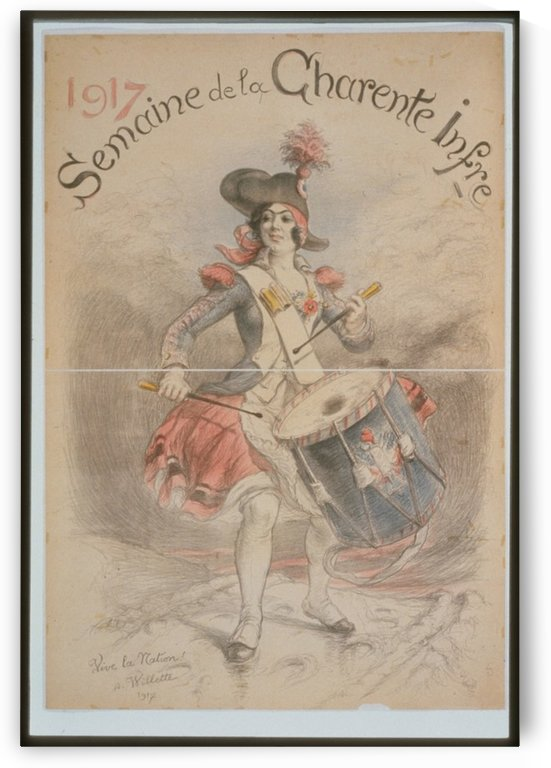Vintage---French-Revolution by VINTAGE POSTER