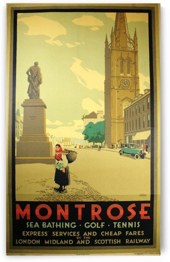 Montrose vintage travel poster by VINTAGE POSTER