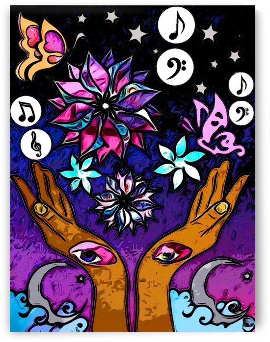 Hidden Hands Of Creativity Two by Kiva Ayo