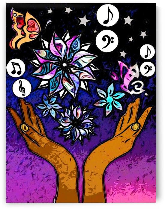 Hidden Hands of Creativity by Kiva Ayo