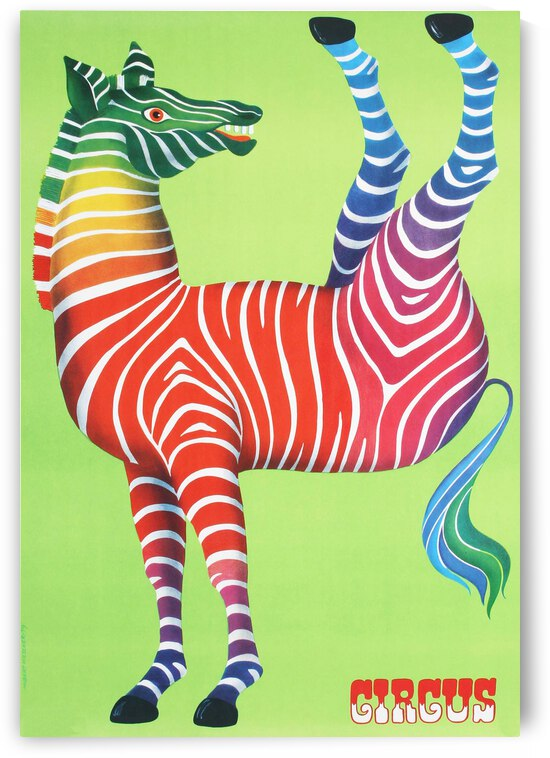 circus zebra by ezioman