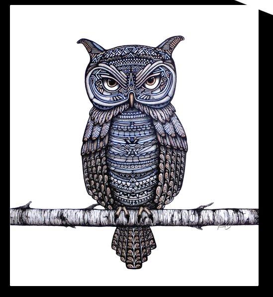 Geo-Owl by Katelynn Clarey
