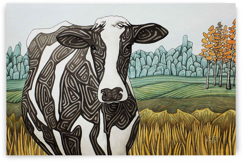 Northumberland Holstein by Katelynn Clarey