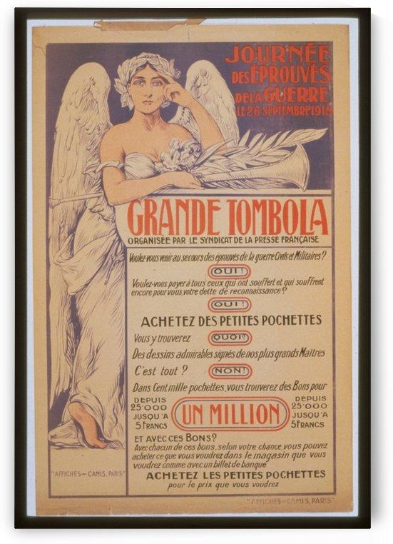 Vintage---Grande-Tambola by VINTAGE POSTER