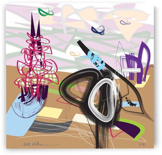 Purple Wispers by ArtViben
