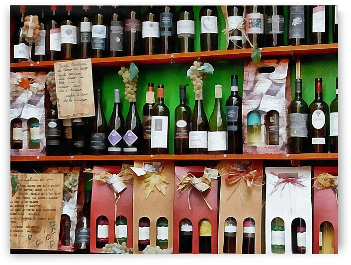 Mixed Wine Display by Dorothy Berry-Lound