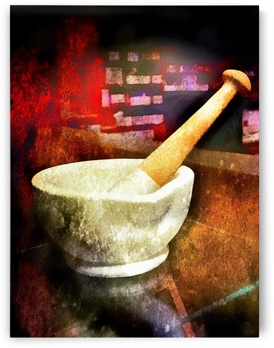 Mortar and Pestle by Dorothy Berry-Lound