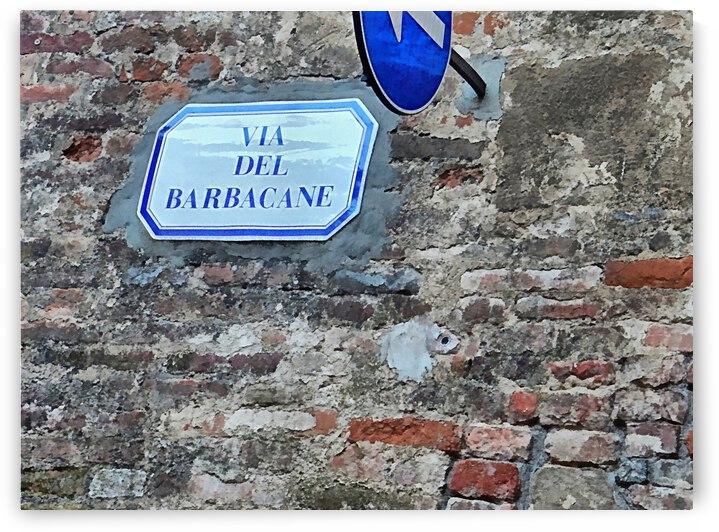 Via del Barbacane by Dorothy Berry-Lound