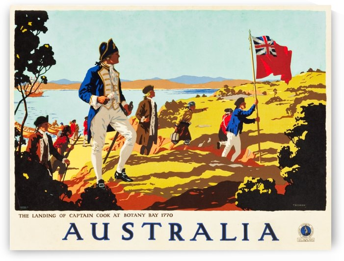 Australia Travel Poster by VINTAGE POSTER