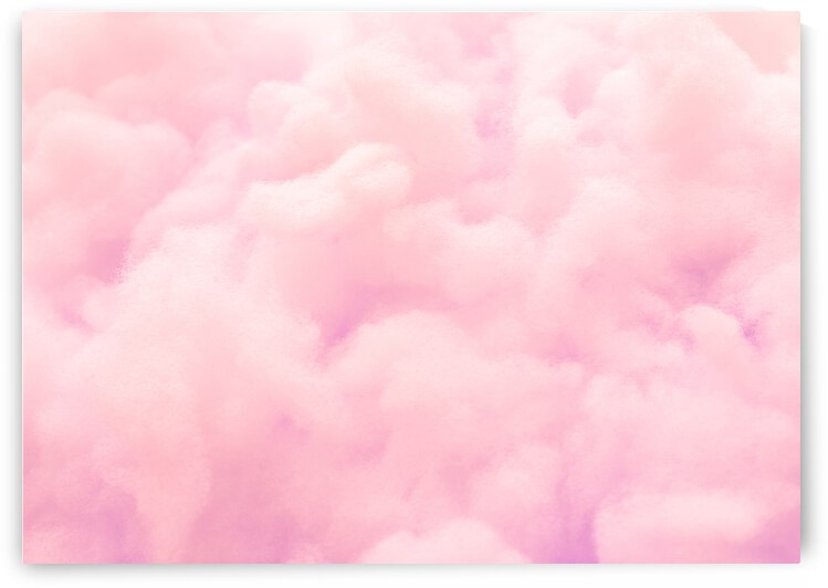colorful pink fluffy cotton candy background soft color sweet candyfloss Sky Extra Large Art Clouds Wall Art  Abstract Modern Art  Minimalist Painting from Original Abstract Painting by GrapyArt