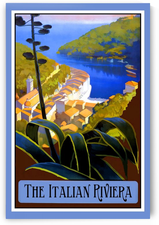 The Italian Riviera by VINTAGE POSTER