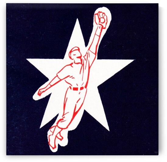 1953 Baseball Star Art by Row One Brand