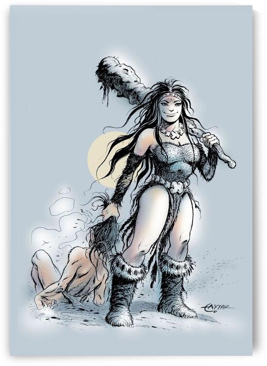 Cavewoman by Tayyar Ozkan