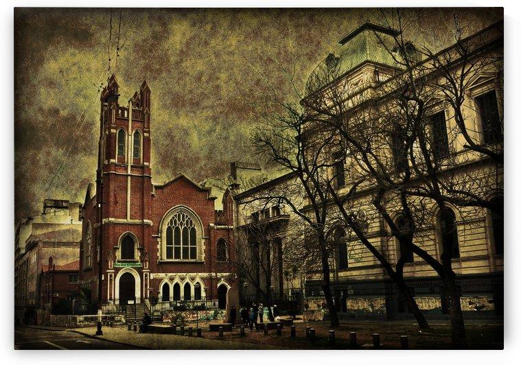 Dark Urban Scene Montevideo Uruguay by Daniel Ferreia Leites Ciccarino