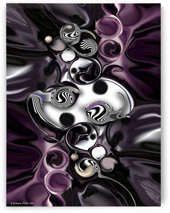 Silmulacrum vs Dimensionality by Carmen Fine Art