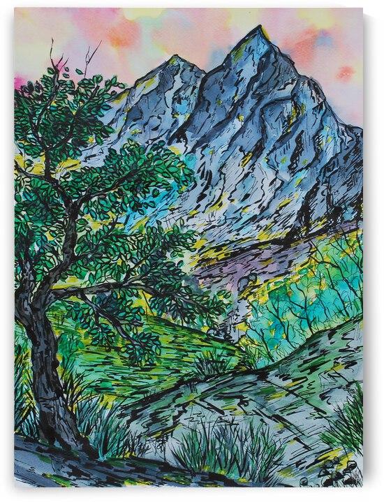 Summer Mountains by ZeichenbloQ