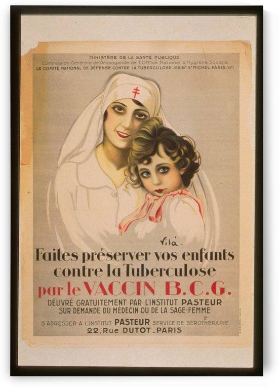 Vintage---Nurse-and-Child by VINTAGE POSTER