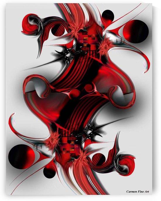 Unique Formation by Carmen Fine Art