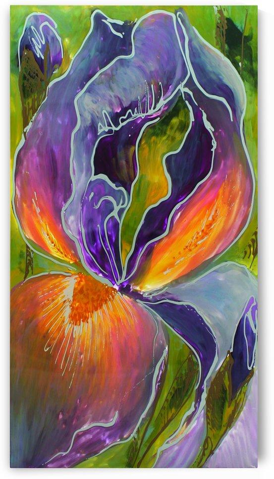 Polyptic with irises 1 by Vali Irina Ciobanu by vali irina ciobanu
