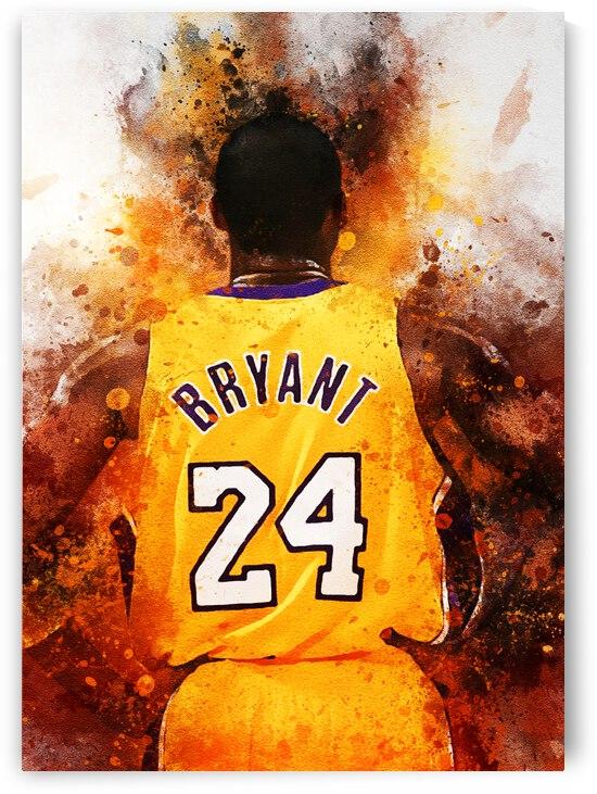 Kobe Bryant by Dims Art