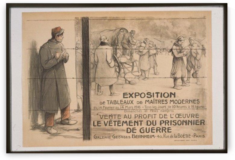 Vintage---Prisoner-of-war by VINTAGE POSTER